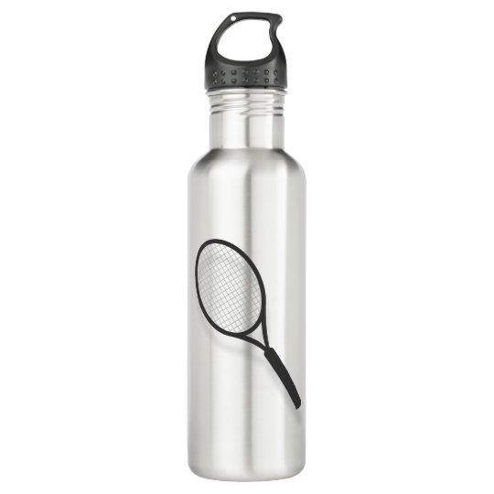 Botella De Agua Gráfico de la estafa de tenis