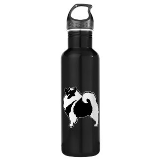 Botella De Agua Gráficos del Keeshond