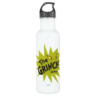 Botella De Agua Grinch clásico el | Starburst verde