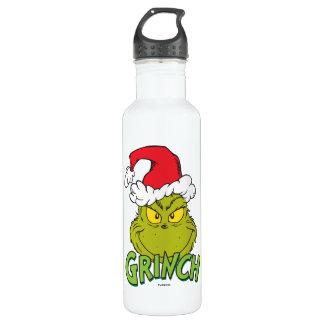Botella De Agua Grinch clásico el | travieso o Niza