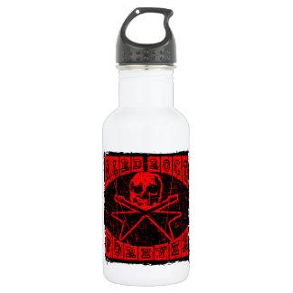 Botella De Agua heavy para siempre