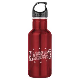 Botella De Agua Herbívoro incondicional (blanco)