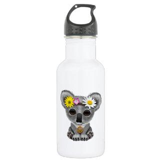 Botella De Agua Hippie lindo de la koala del bebé