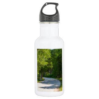 Botella De Agua Impulsión de la orilla del lago Mackinac