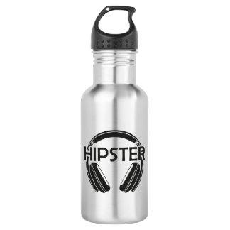 Botella De Agua Inconformista de los auriculares de la música