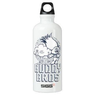 Botella De Agua Individuo y rama - compinche Bros de la nube de