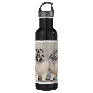 Botella De Agua Keeshonds