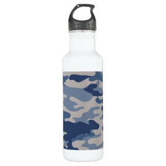 Botella De Agua Libertad Bottleworks de los azules de marina de