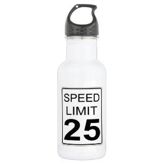 Botella De Agua Límite de velocidad