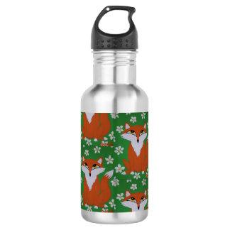Botella De Agua Botella de agua linda del Fox
