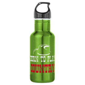 Botella De Agua Llevado jugar el país