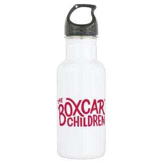 Botella De Agua Logotipo del funcionario de los niños del furgón