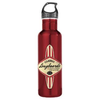 Botella De Agua Longboards de encargo personalizado