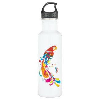 Botella De Agua Loro multicolor adorable