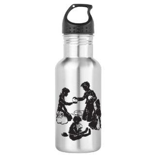 Botella De Agua Los niños del furgón: Cuatro niños hambrientos