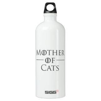Botella De Agua Madre de gatos
