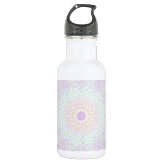 Botella De Agua Mandala en colores pastel del amor suave (grande)