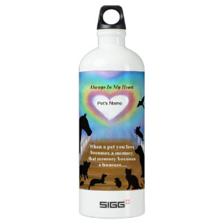 Botella De Agua Mascotas del puente del arco iris