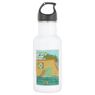 Botella De Agua Memorias de Motel Piscina-de Route 66
