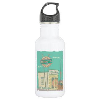 Botella De Agua Memorias de Tienda-de Route 66 del buñuelo