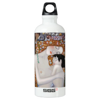 Botella De Agua Mi Klimt Serie: Madre y niño