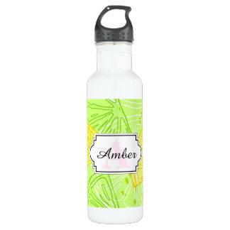 Botella De Agua Modelo brillante de los limones de la fruta