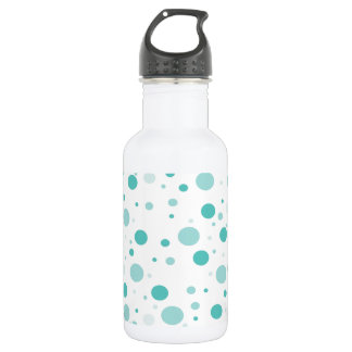 Botella De Agua Modelo de lunares adorable