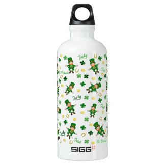 Botella De Agua Modelo del día del St Patricks