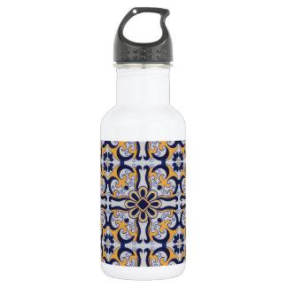Botella De Agua Modelo portugués de la teja