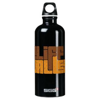 Botella de agua negra del CV 70s
