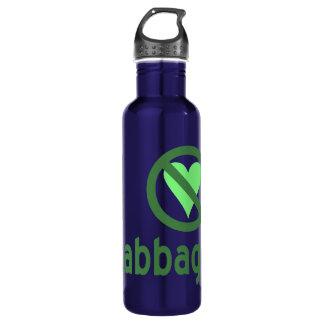 Botella De Agua Odio la col