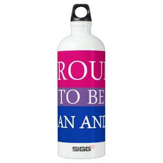 Botella De Agua Orgulloso ser asiático y BI