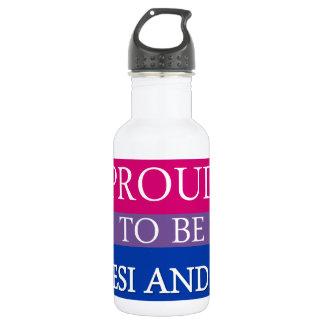 Botella De Agua Orgulloso ser Desi y BI