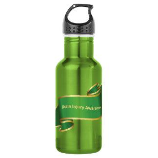 Botella de agua para apoyar la lesión cerebral