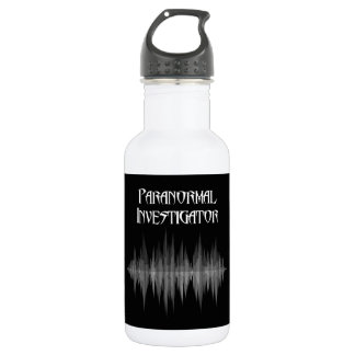 Botella de agua paranormal del investigador