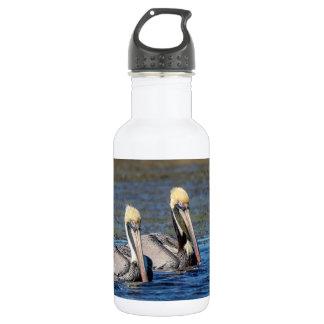 Botella De Agua Pares de pelícanos