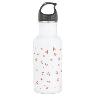 Botella De Agua Partículas felices