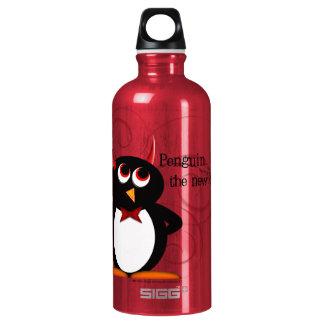 Botella De Agua Pingüino, el nuevo negro