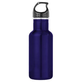 Botella De Agua Plantilla púrpura del aluminio de la libertad