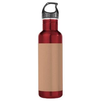 Botella De Agua Plataforma de acrílico creada artista del color de