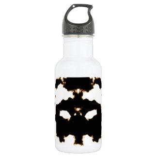 Botella De Agua Prueba de Rorschach de una tarjeta de la mancha