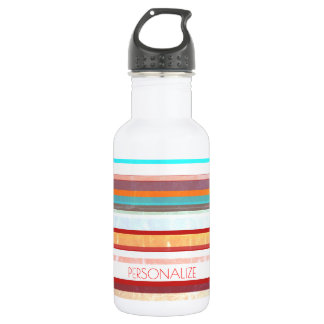 Botella De Agua Rayas personalizadas