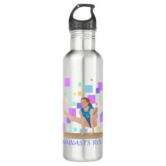 Botella De Agua ¡Roca de los gimnastas!  Haz de balanza