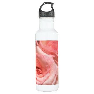 Botella De Agua Rosas rosados