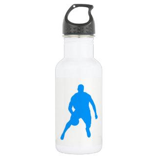 Botella De Agua Silueta del baloncesto