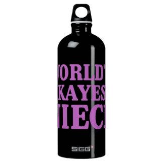 Botella De Agua Sobrina de Okayest del mundo