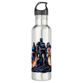 Botella De Agua Superhombre, Batman, y trinidad de la Mujer
