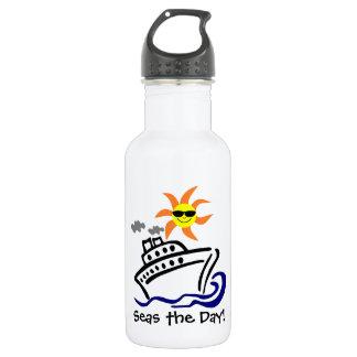 Botella de agua temática cruzada 18oz