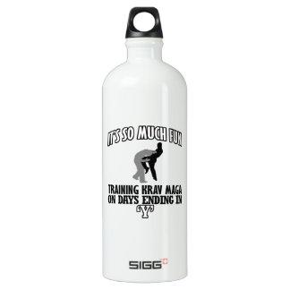 Botella De Agua Tender los diseños de Krav Maga