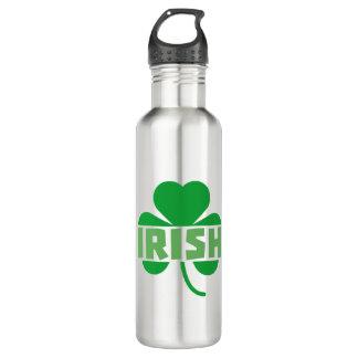 Botella De Agua Trébol irlandés Z9t2d del cloverleaf